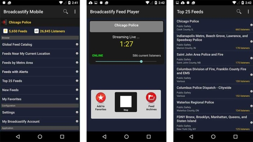 5 best police scanner apps for Android